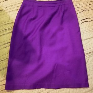Vintage Purple Skirt